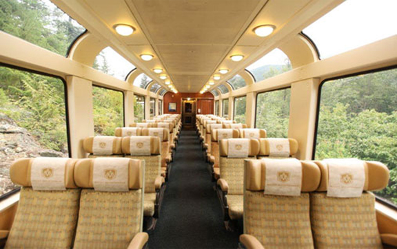 rocky-mountaineer-train-interior-seats-gold-leaf